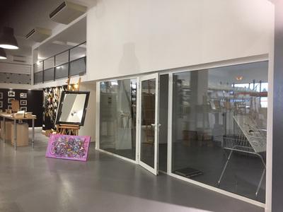 Bureau d'intérieur avec vitrage - Label Art