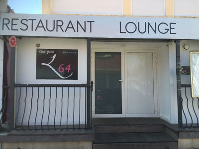 Portes de service securit - Restaurant Lounge L64