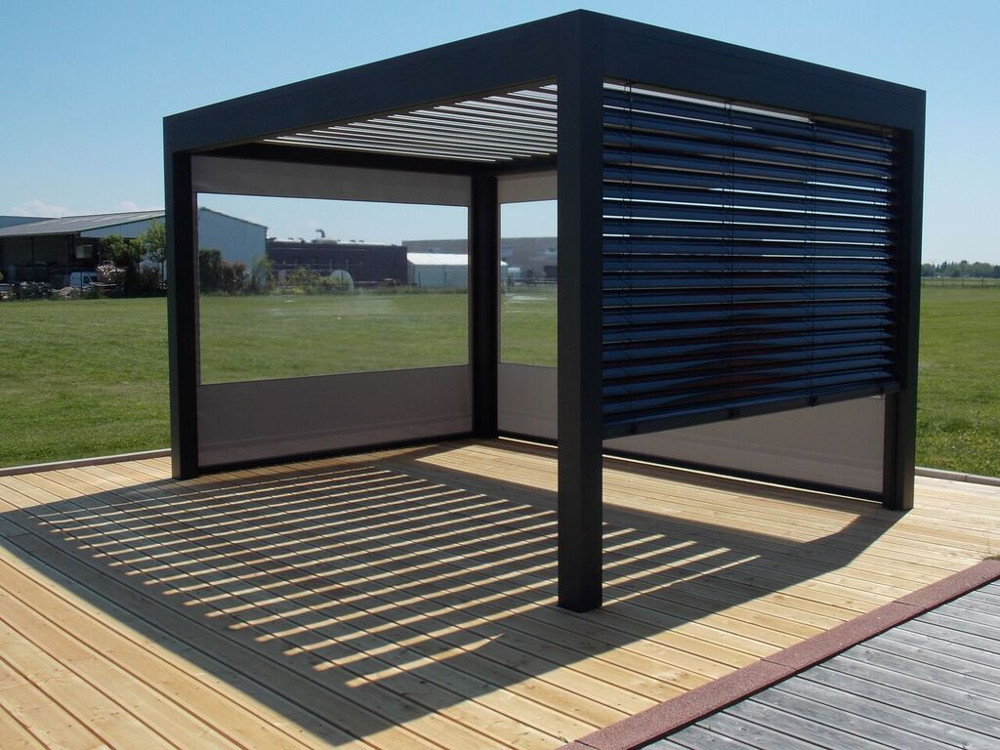 amenagement pergola exterieur best latest pergola with. Black Bedroom Furniture Sets. Home Design Ideas